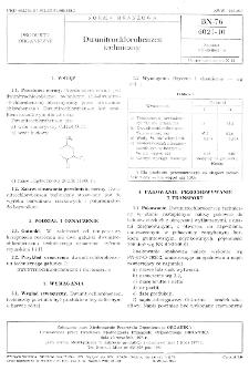 Dwunitrochlorobenzen techniczny BN-76/6021-10
