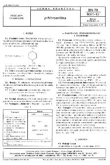 p-Nitroanilina BN-79/6021-13