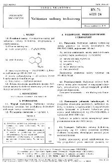 Naftionian sodowy techniczny BN-76/6021-24