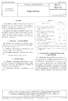 Kaprolaktam BN-77/6026-04