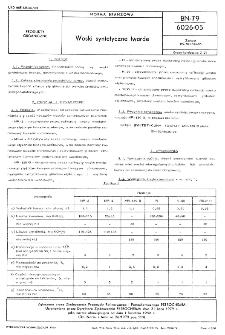Woski syntetyczne twarde BN-79/6026-05