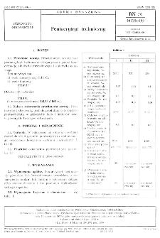 Pentaerytryt techniczny BN-76/6026-09