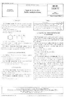 Półprodukty do barwników - Anilid acetylooctowy BN-81/6026-13