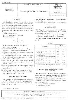 Dwufenyloamina techniczna BN-72/6026-15