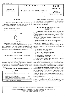 N-Etyloanilina destylowana BN-90/6026-28