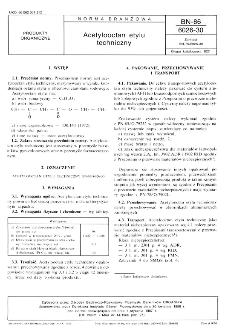 Acetylooctan etylu techniczny BN-86/6026-30