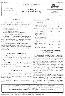 Aldehyd octowy techniczny BN-77/6026-40