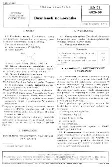 Dwutlenek tiomocznika BN-71/6026-50
