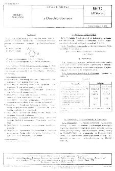 p-Dwuchlorobenzen BN-72/6026-58