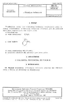 o-Toluidyna techniczna BN-75/6026-66