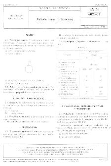 Nitrobenzen techniczny BN-76/6026-71