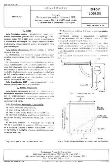 Pestycydy - Oznaczanie pozostałości śladowych DDT, izomeru gamma HCH i DMDT obok siebie w ekstraktach z materiałów roślinnych BN-69/6051-05