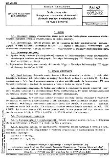 Środki ochrony roślin - Biologiczne oznaczanie skuteczności płynnych środków owadobójczych na musze domowej BN-63/6052-02