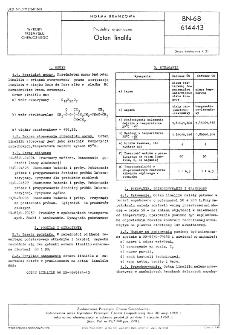 Produkty organiczne - Octan linalilu BN-68/6144-13