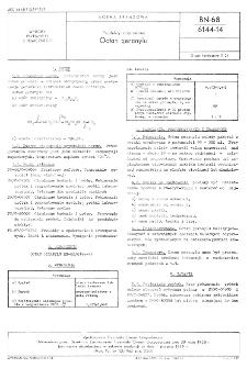 Produkty organiczne - Octan geranylu BN-68/6144-14