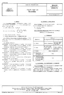 Produkty organiczne - Nerolina sublimanowana BN-69/6144-15