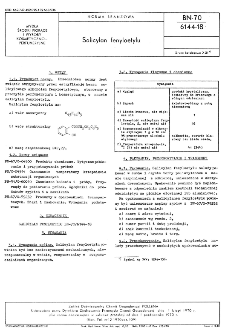 Salicylan fenyloetylu BN-70/6144-18