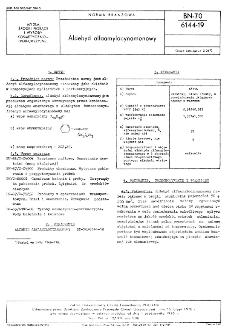 Aldehyd alfaamylocynamonowy BN-70/6144-19