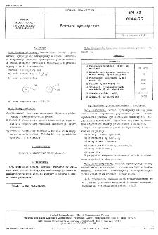 Borneol syntetyczny BN-70/6144-22