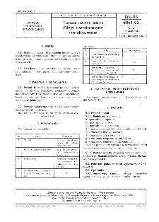 Tłuszcze roślinne jadalne - Oleje uwodornione nierafinowane BN-86/8051-02
