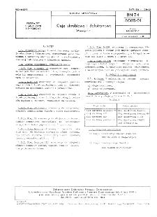 Kleje skrobiowe i dekstrynowe - Wymagania BN-74/8085-01