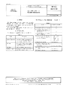 Półprodukty cukiernicze - Wiórki kokosowe BN-82/8099-10