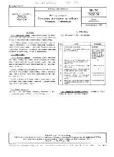 Produkty warzywne - Konserwy warzywne w zalewie - Wymagania mikrobiologiczne BN-70/8120-01