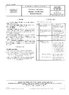 Przetwory warzywne - Buraki ćwikłowe konserwowe BN-80/8122-05