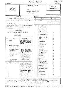 Półprzetwory owocowe - Pulpy owocowe BN-75/8123-04