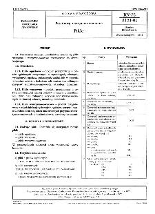 Przetwory warzywno-owocowe - Pikle BN-75/8124-01