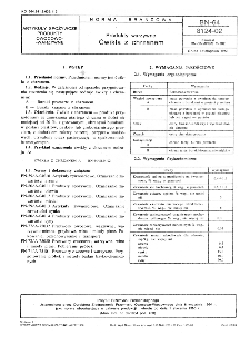 Produkty warzywne - Ćwikła z chrzanem BN-64/8124-02
