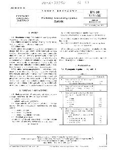 Przetwory warzywno-grzybowe - Sałatki BN-86/8124-05
