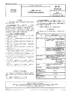 Produkty warzywne - Cebula konserwowa BN-67/8124-06