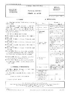 Przetwory owocowe - Śliwki w occie BN-73/8124-07