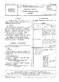 Przetwory warzywne - Ogórki konserwowe praskie BN-77/8124-09