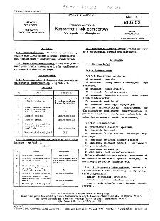 Przetwory warzywne - Koncentrat i sok pomidorowy - Wymagania mikrobiologiczne BN-74/8125-02