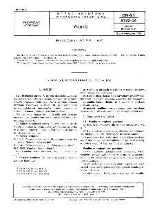 Wanilia BN-91/8132-04