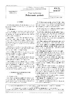 Przyprawy korzenne - Pobieranie próbek BN-79/8132-17