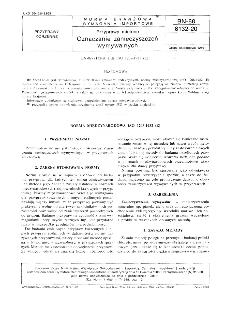 Przyprawy mielone - Oznaczanie zanieczyszczeń wymywalnych BN-88/8132-20