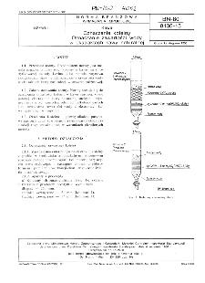 Kawa - Oznaczanie kofeiny - Oznaczanie zawartości wody w ekstraktach kawy naturalnej BN-80/8136-13
