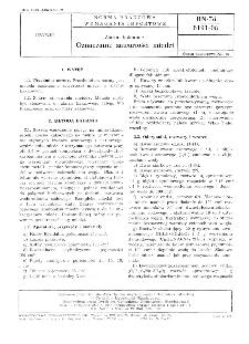 Ziarno kakaowe - Oznaczanie zawartości miedzi BN-78/8191-08
