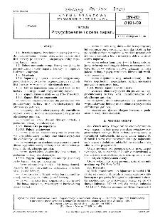 Herbata - Przygotowanie i ocena naparu BN-80/8191-09