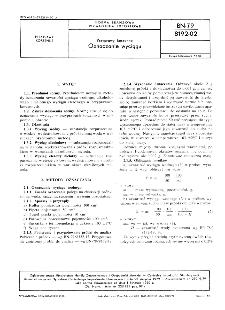 Przyprawy korzenne - Oznaczanie wyciągu BN-79/8192-02