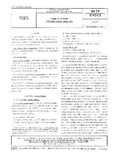 Przyprawy korzenne - Oznaczanie olejków eterycznych BN-79/8192-04