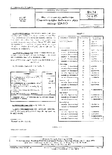 Niewulkanizowane płyty antykorozyjne - Charakterystyka techniczna płyty rodzaju IZA-170 BN-74/6616-15 Arkusz 16