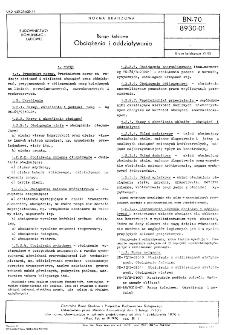 Rampy kolejowe - Obciążenia i oddziaływania BN-70/8930-01