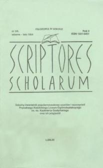 Scriptores Scholarum : kwartalnik uczniów i nauczycieli oraz ich Przyjaciół R. 2, nr 3/4 wiosna/lato 1994