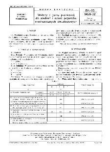 Wkłady z gumy piankowej do siedzeń i oparć pojazdów mechanicznych dwuśladowych BN-85/6626-02
