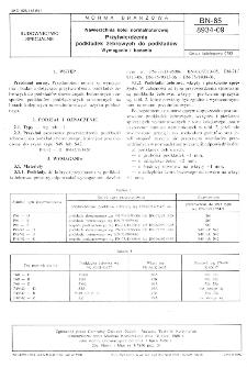 Nawierzchnia kolei normalnotorowej - Przytwierdzenia podkładek żebrowych do podkładów - Wymagania i badania BN-85/8934-09
