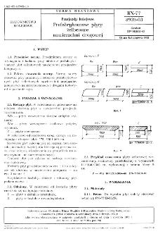 Przejazdy kolejowe - Prefabykowane płyty żelbetowe nawierzchni drogowej BN-77/8939-03